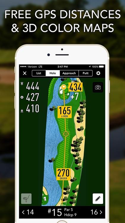 GolfLogix GPS + Putt Breaks screenshot-0