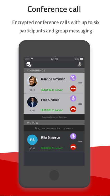 Silent Phone screenshot-4