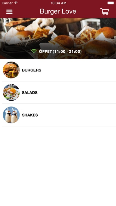 Burger Love Screenshot