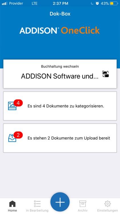 ADDISON OneClick Dok-Box