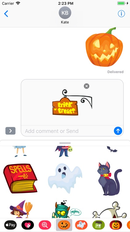 Happy Halloween Pumpkin Emotes
