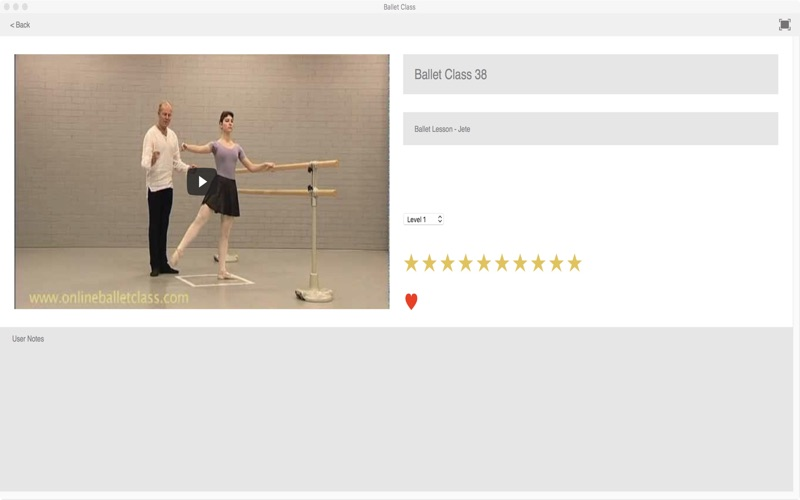 Ballet Class screenshot 3