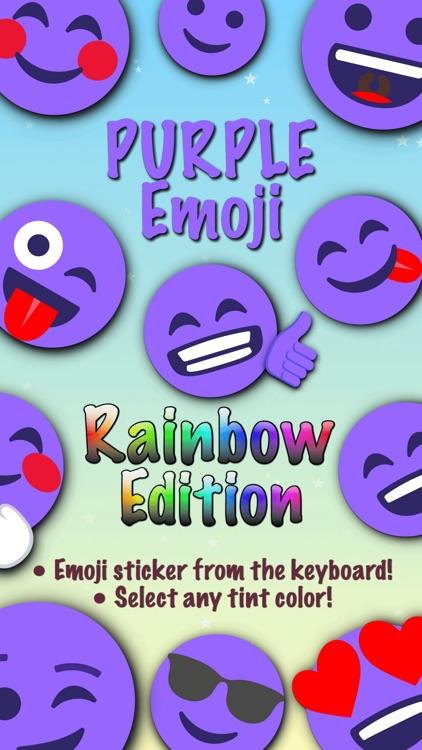 PURPLE Emoji • Stickers
