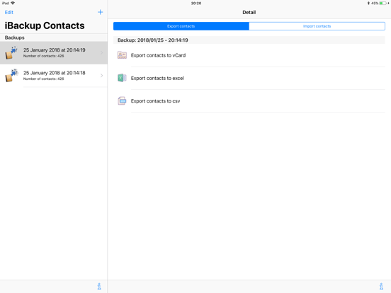 iBackup Contacts   App Price Drops