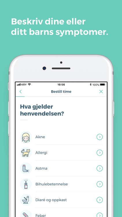 KRY - legetime på mobilen screenshot-3