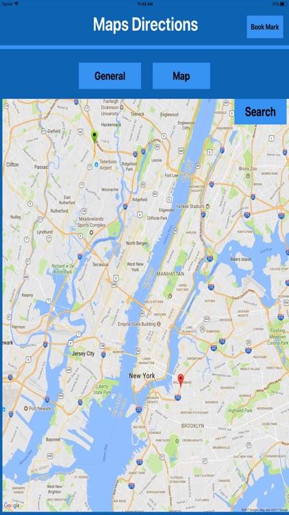 Directions & Map Navigator MGR screenshot-3