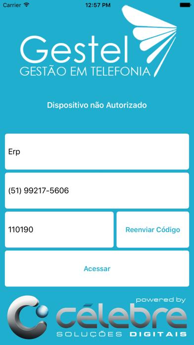 GesTel - Gestão em Telefonia screenshot two