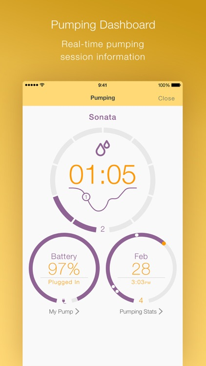 MyMedela screenshot-2