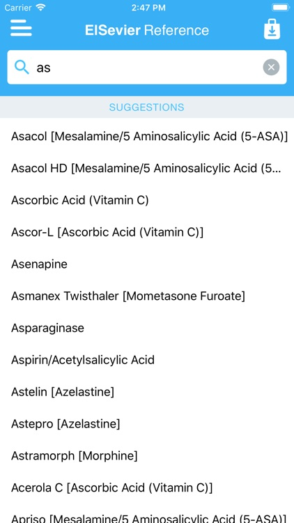 Drug Reference for Professions screenshot-4