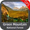 Green Mountain National Forest - Topo