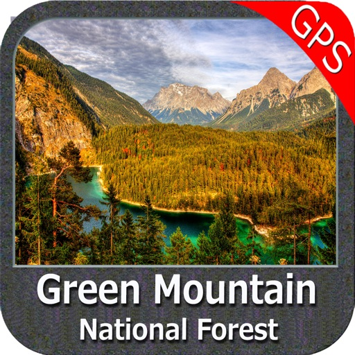 Green Mountain National Forest - GPS Map Navigator
