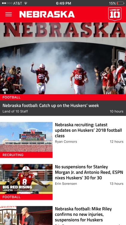 Landof10 - Big10 Football News screenshot-4