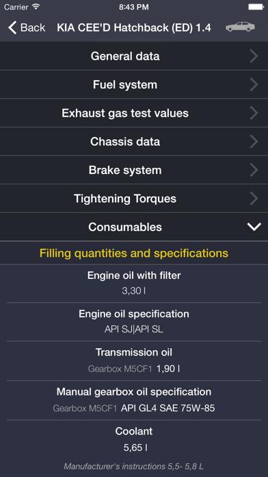 TechApp for KIA Screenshot