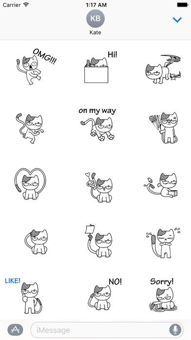 Animated Cat Catmoji Stickers screenshot 1