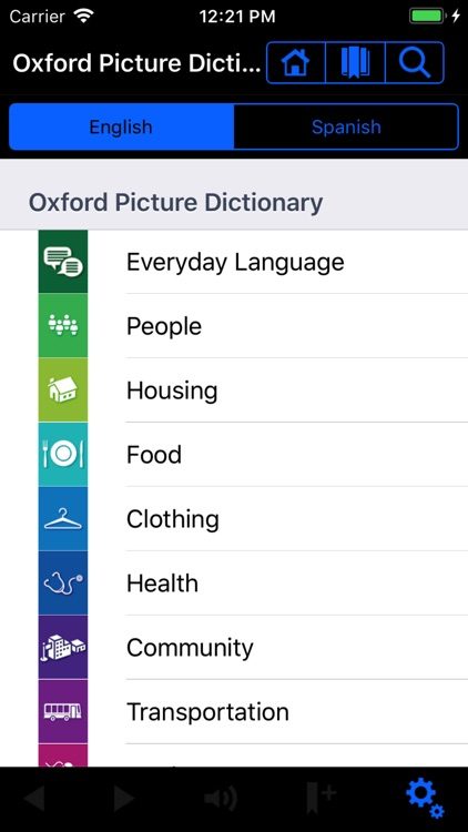 Oxford Picture Dictionary Demo