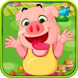 可爱小猪露营去-家庭教育必备
