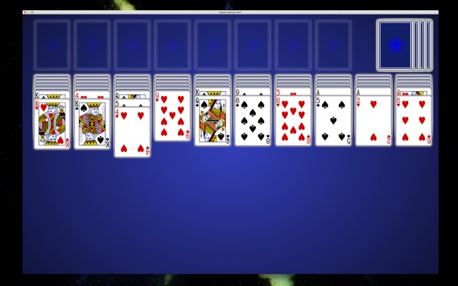 Spider Solitaire 2018 Screenshot