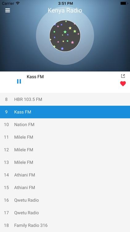 Kenya Radio Station: Online FM screenshot-4