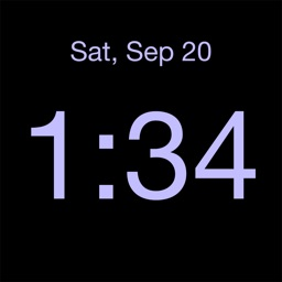 Disappearing Bedside Clock