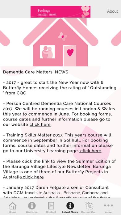 Dementia Care Matters screenshot three