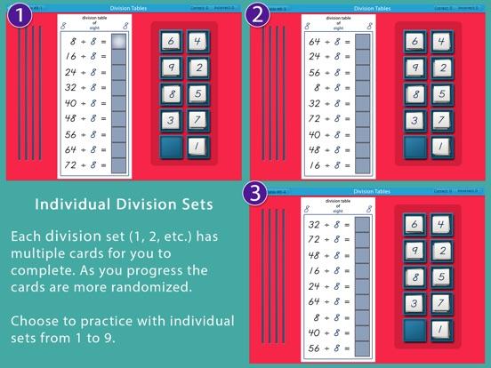 Montessori Division Tables screenshot 8