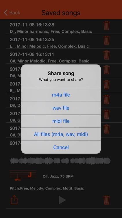 Virtual Music Composer screenshot-4