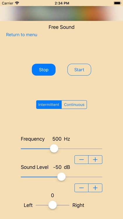 Easy Hearing Test screenshot-3