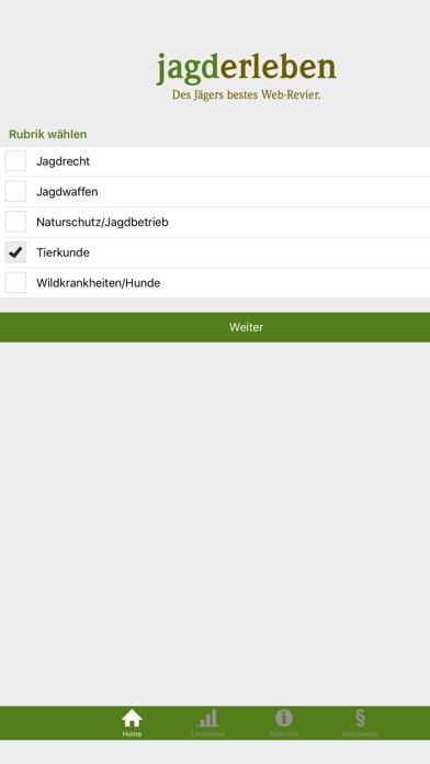 Screenshot for Jagdprüfung Niedersachsen in Germany App Store