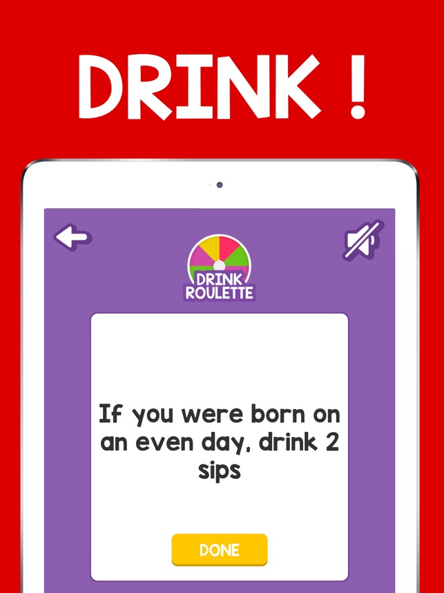 Dirty roulette for iphone