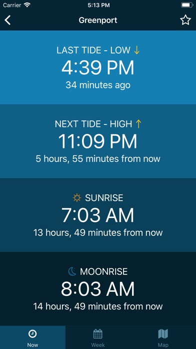 Screenshot for Tides Near Me in United States App Store