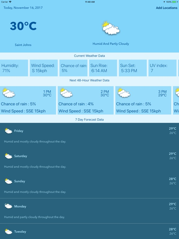 Weather : Clouds are White. screenshot 7