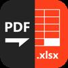 PDF to XLSX Master-Convert PDF to Excel