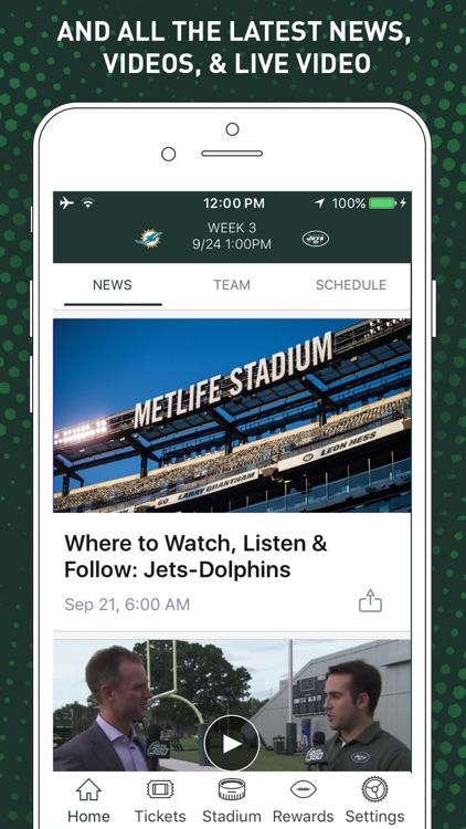 Official New York Jets screenshot-4