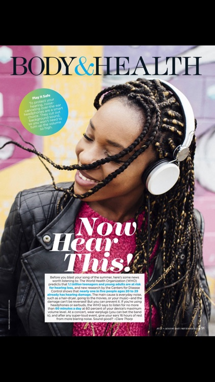 Seventeen Magazine US screenshot-3