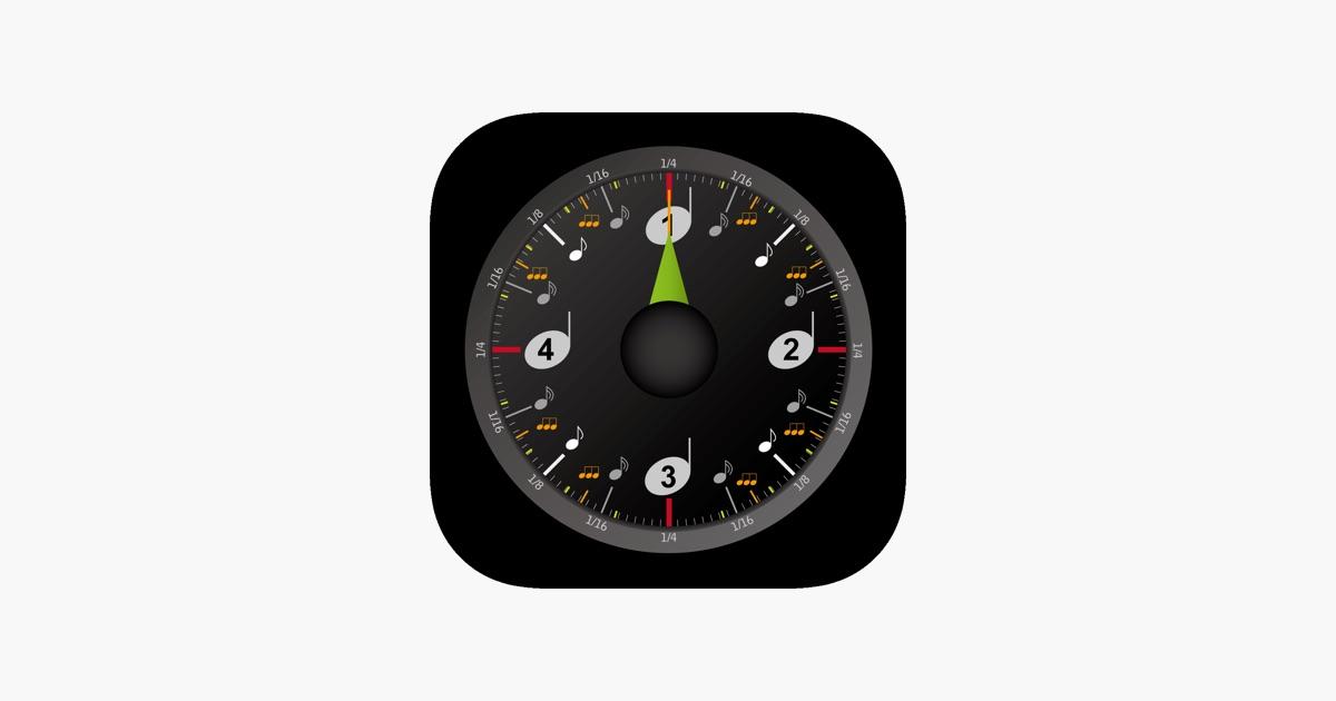 Metrock metronome on the App