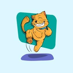 Cute Kitten Stickers - Meow!