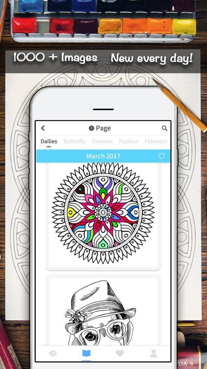 Color Doodle Coloring Book screenshot-3