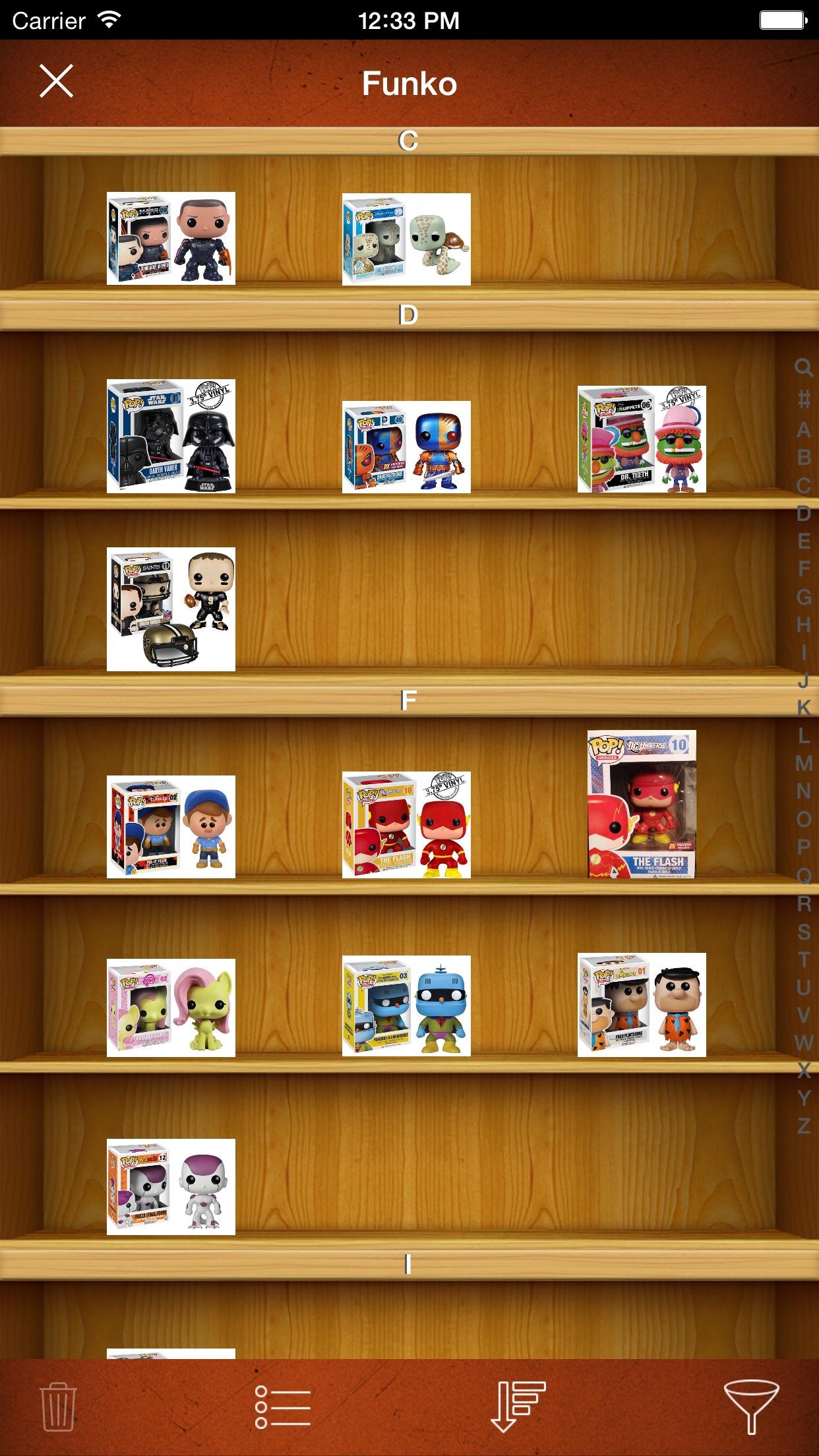 Vinyl Figure Toy Collector Screenshot