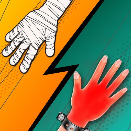 Red Hand Slap Two Player Games