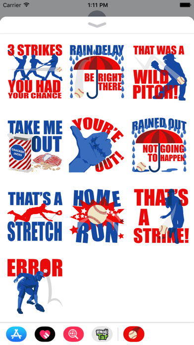 Play Ball StickersScreenshot of 3
