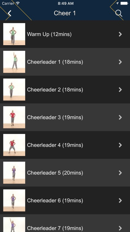 Cheerleading Dance Fitness screenshot-0