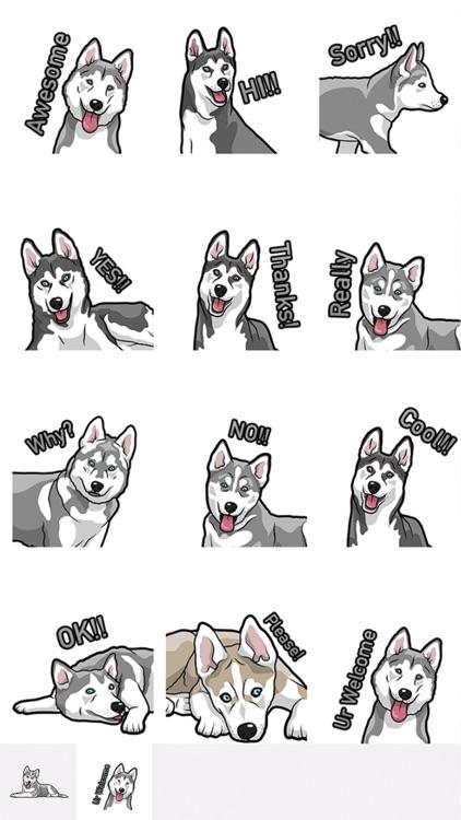 HuskyMoji - Husky Emoji & Sticker