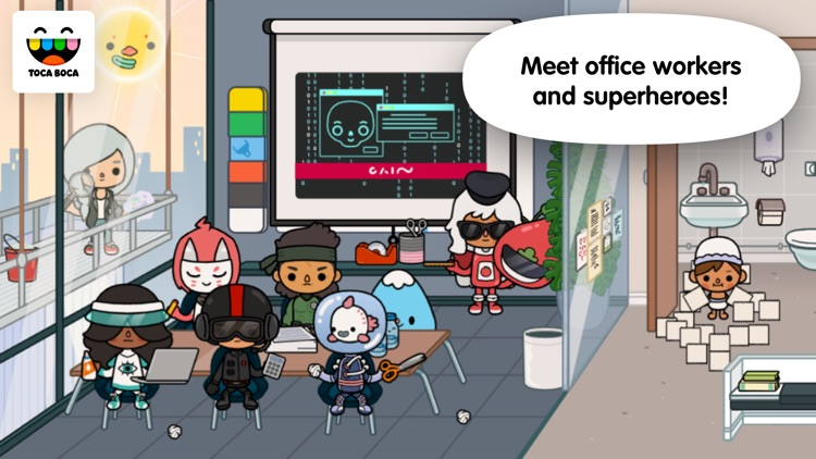 Toca Life: Office screenshot-3