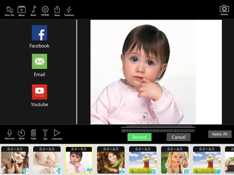 FunSlides HD - Make HD video from photos screenshot-4