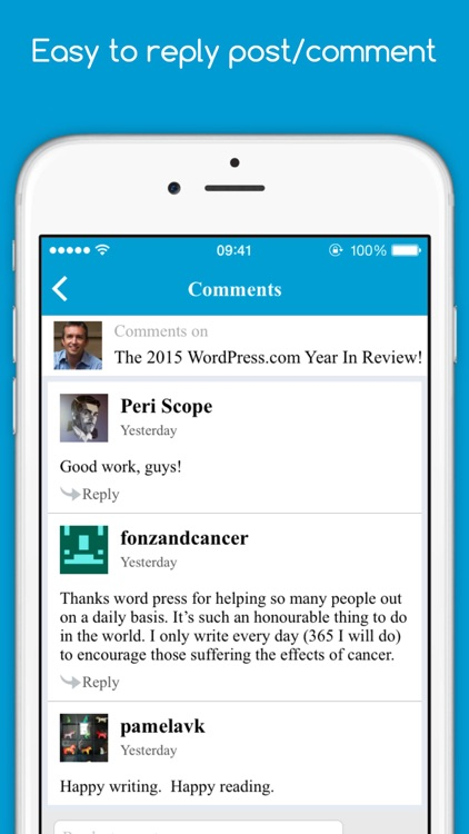 WPReaders screenshot-4