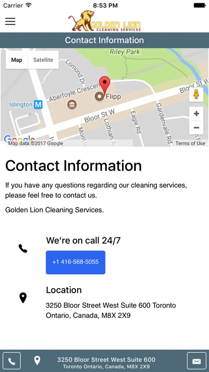 Golden Lion Cleaning Services screenshot-3