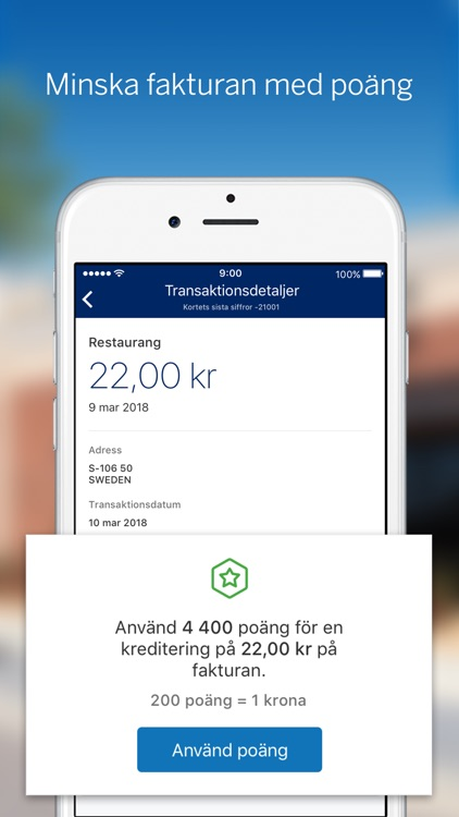 Amex Sverige screenshot-2
