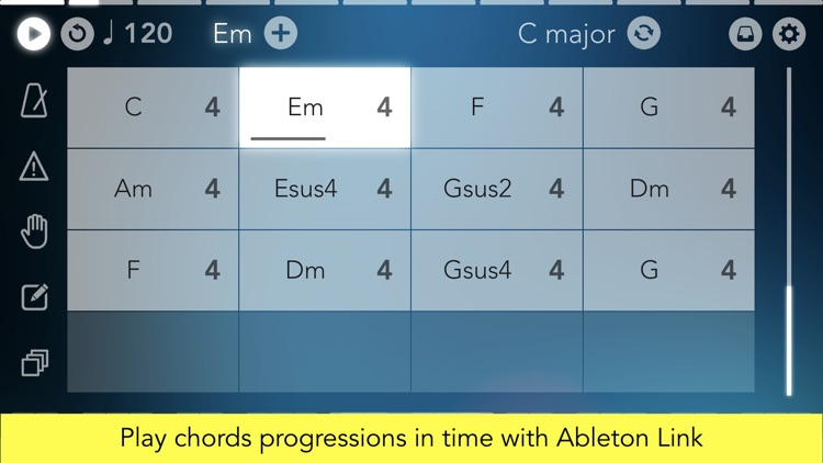 Navichord • chord sequencer screenshot-3