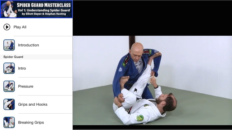 BJJ Spider Guard Vol 1 screenshot-3