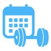 健身日历--完善的健身指导及健身记录日记软件